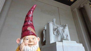 Enjoying the memorials in Washington DC