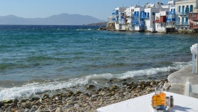 Enjoy the waters of Mykonos, Greece without getting seasick.
