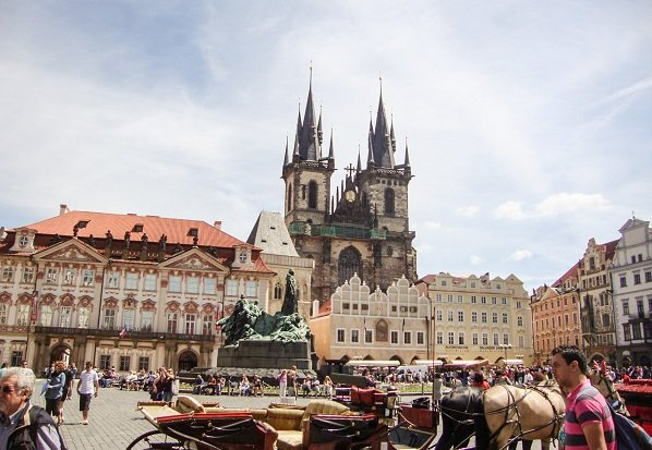 Flying out of Prague without having to double back at the end of the trip saved a lot of time and hassle.
