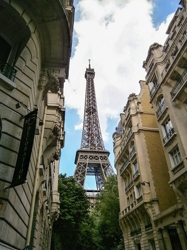 If this is the view you want out of your Paris hotel window, do your research to book the perfect place.