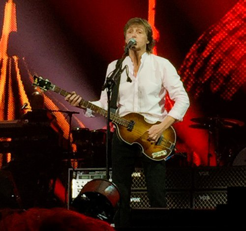Paul McCartney at the O2 Arena, Prague