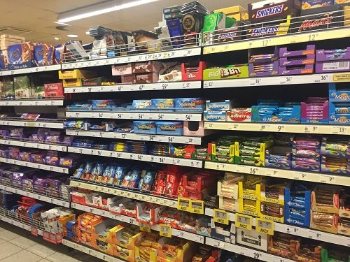 Candy aisle