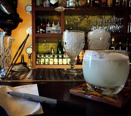 The Mezcal Sour at Hemingway Bar.
