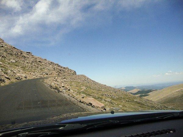 Mt evans drive