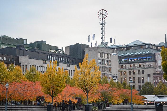 Fall in Stockholm Sweden