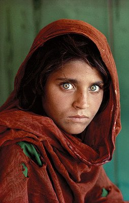 Her name is Sharbat Gula.
