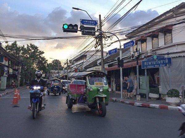 Street crossings