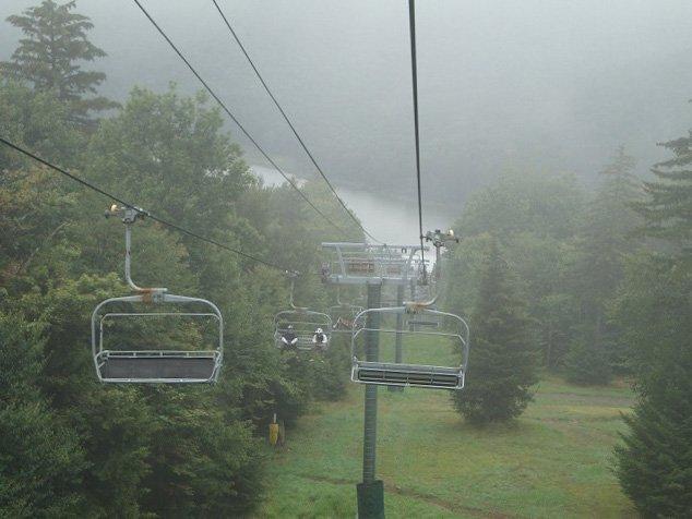 Ever seen a West Virginia ski resort off-season? It's like Halloween Horror nights in July.