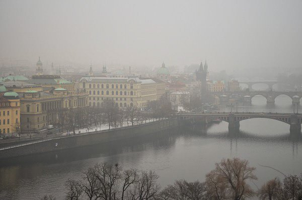 prague winter
