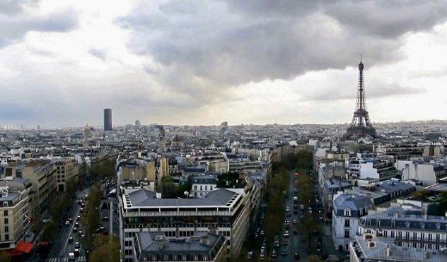 best eiffel tower view