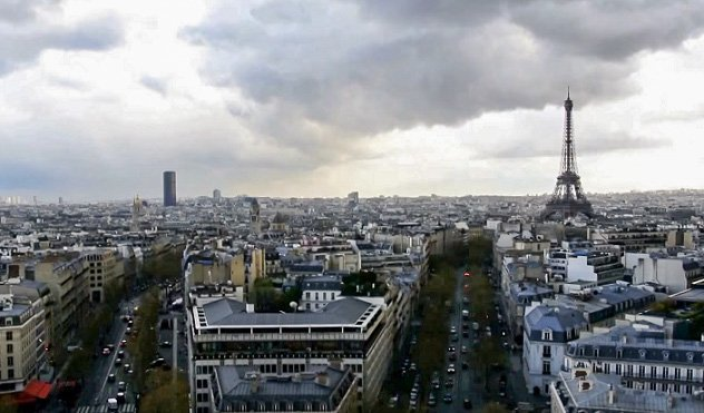 best eiffel tower view