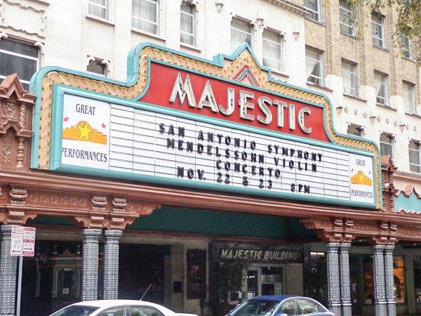 majestic theatre san antonio
