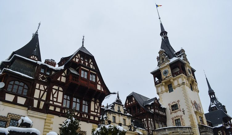bran and peles castle