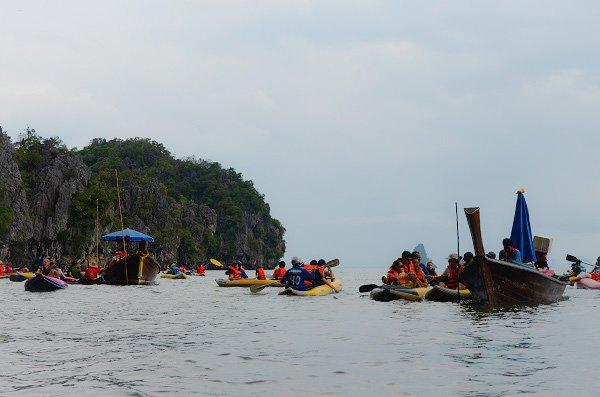 Phang Nga Bay canoe tour