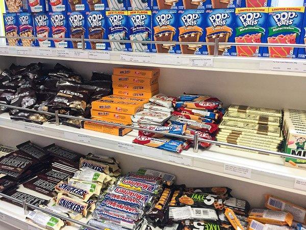 american candy in prague