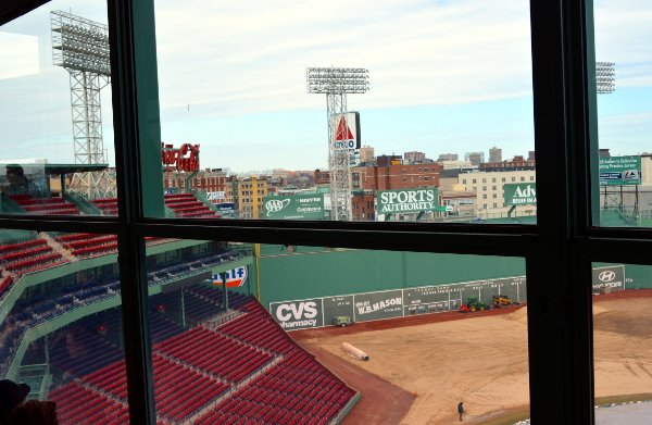 red sox fenway park tour