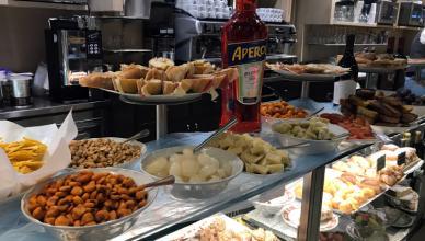 free dinner in milan