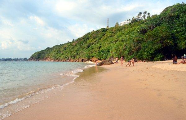 jungle beach, sri lanka